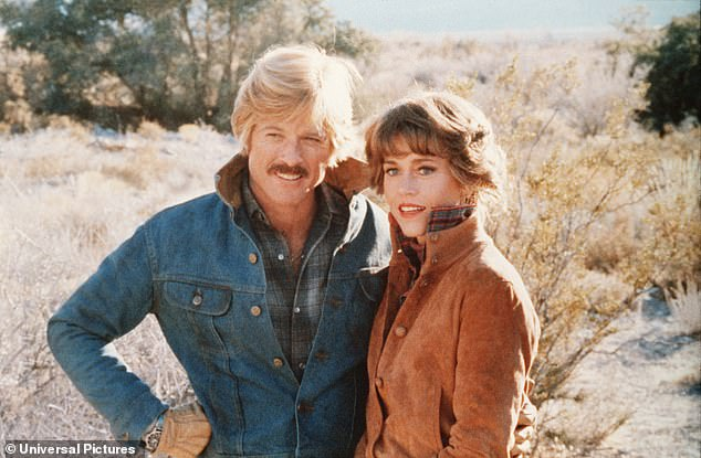 Dynamic duo:And the college graduate also penned the critically acclaimed 1979 film The Electric Horseman with Jane Fonda and Robert Redford