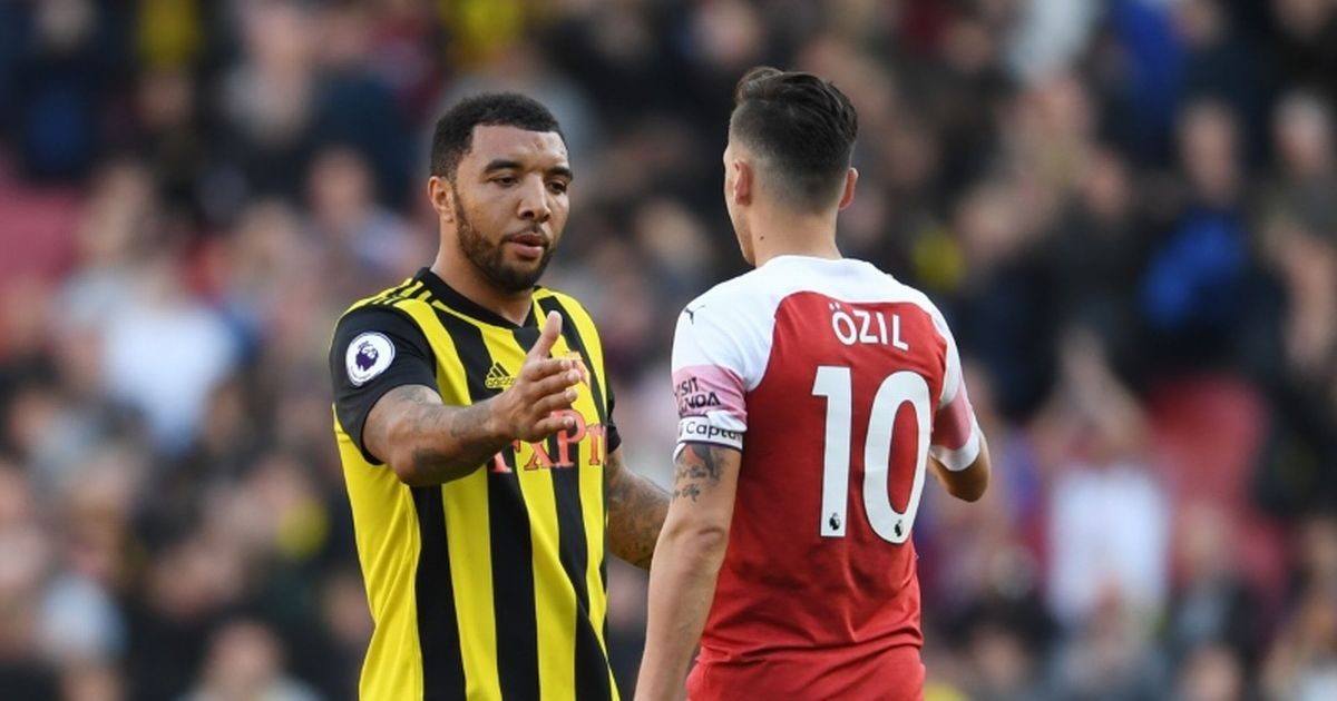 Troy Deeney wades into the Arsenal and Mesut Ozil standoff with scathing verdict