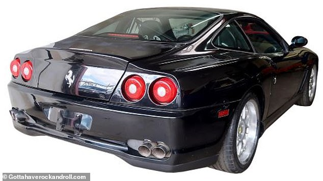 Worth every cent: The Ferrari is estimated to command anywhere between $250,000 to $300,000