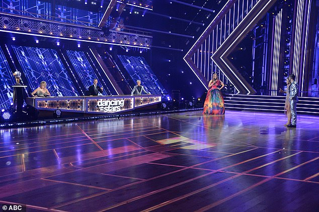 Season finale: Carrie Ann Inaba, Derek Hough, Bruno Tonioli and Tyra faced Kaitlyn and Artem