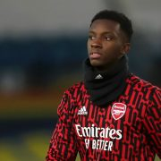 Eddie Nketiah offered mixed messages over Arsenal future amid current situation