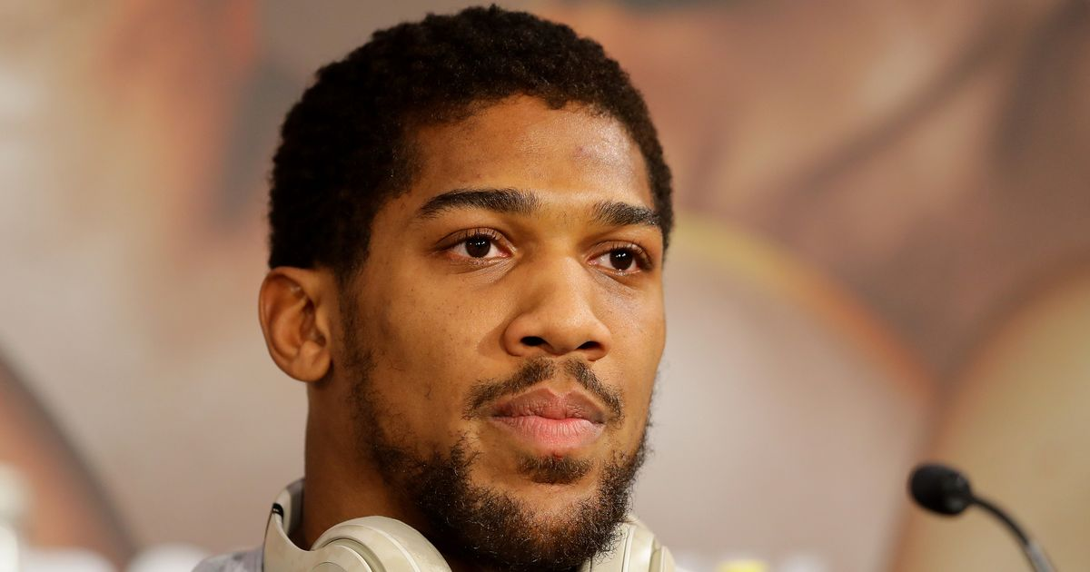 Anthony Joshua responds to Deontay Wilder admitting he avoided fight