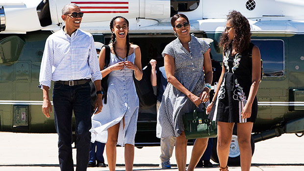 Barak Obama Reveals Daughters Sasha & Malia Joined BLM Demonstrations Over The Summer: I Couldn't Be Prouder