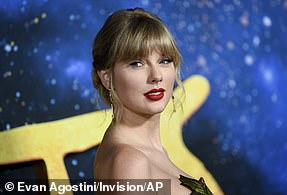 Taylor Swift is tied for second-most nominated artists with six