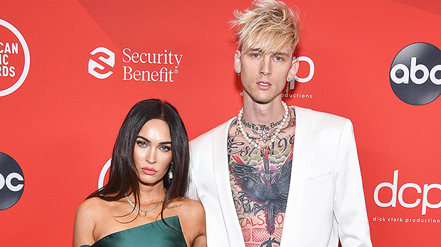 Megan Fox Debuts New Tattoo At AMAs & Fans Are Convinced It's A Tribute To Machine Gun Kelly