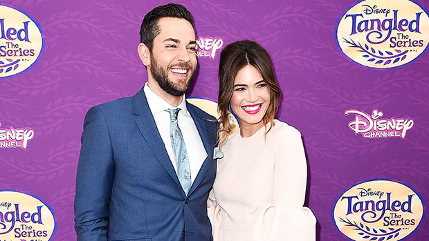 Mandy Moore & Zachary Levi Reunite To Celebrate 'Tangled' On 10th Anniversary — Watch