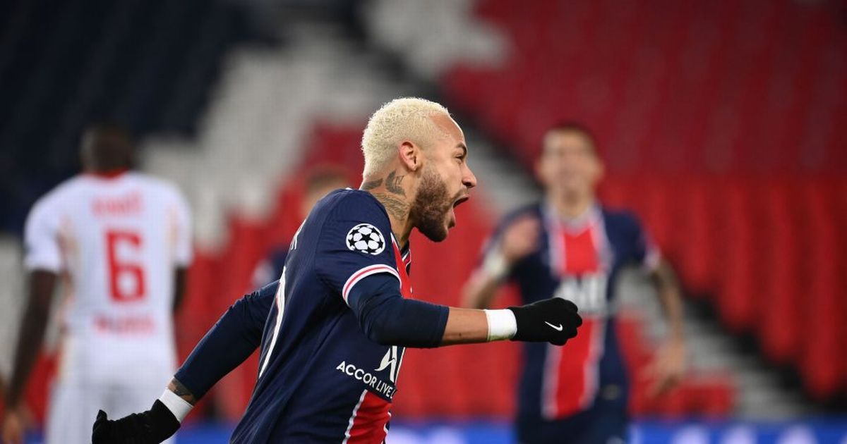 Champions League round-up as Neymar penalty sees PSG beat RB Leipzig
