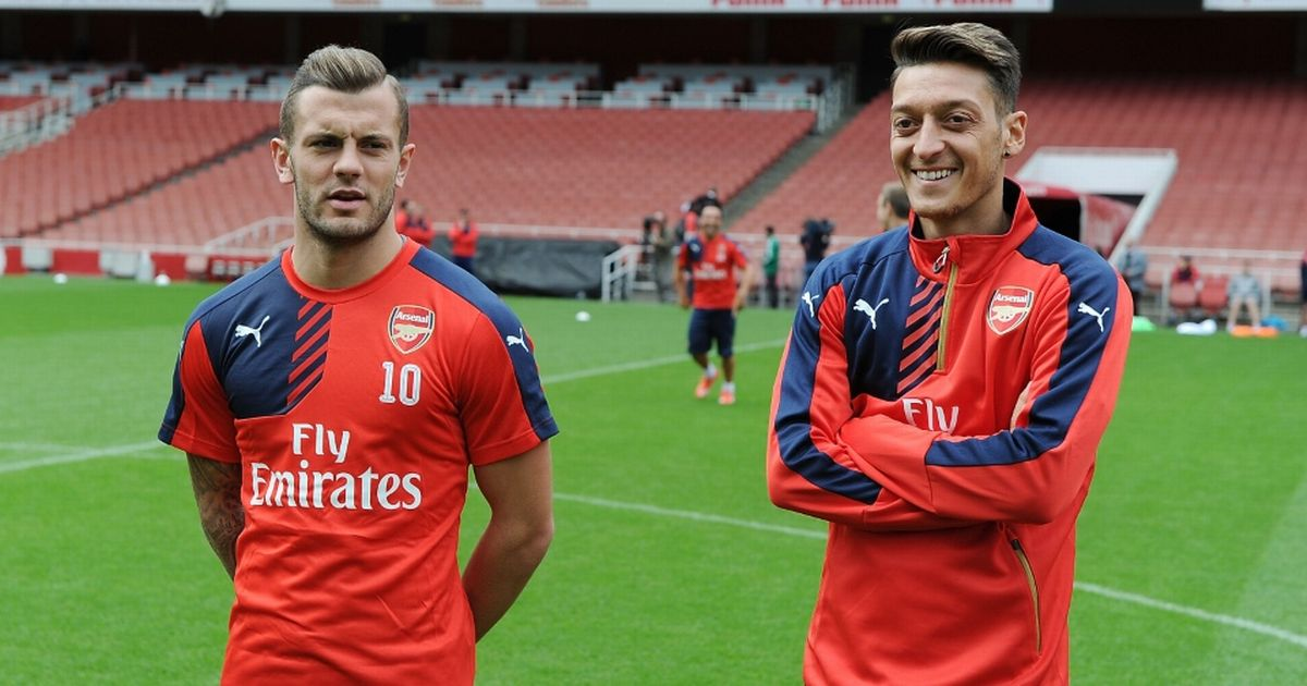 Wilshere takes clear side in Arsenal vs Ozil debate with 'crying out' claim