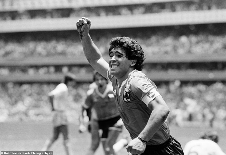 It was Maradona himself who described that goal against England in 1986 as 'The Hand of God'