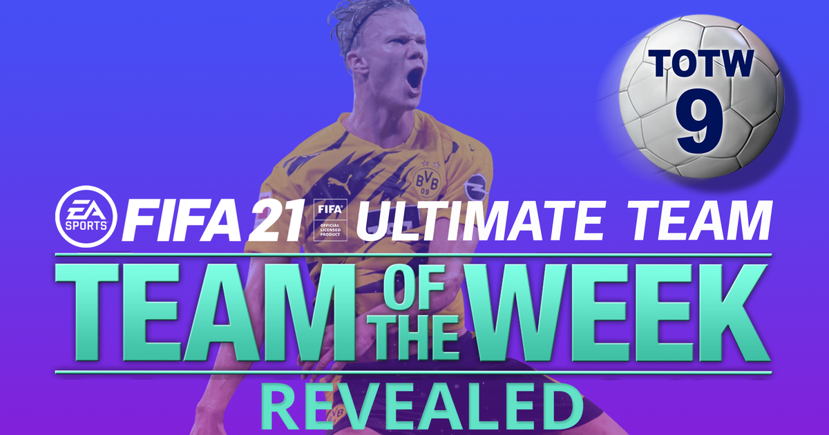 FIFA 21 TOTW 9 confirmed with Cristiano Ronaldo and Manuel Neuer in-forms