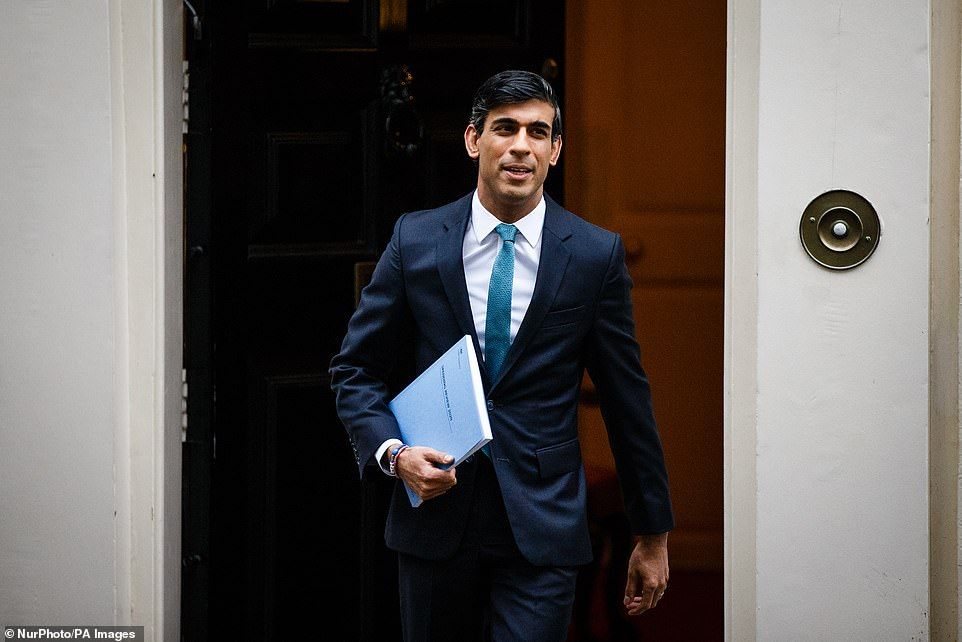 Rishi Sunak (pictured) delivered a formidable speech in the Commons yesterday. The Chancellor's calm manner and mastery of detail filled me with confidence