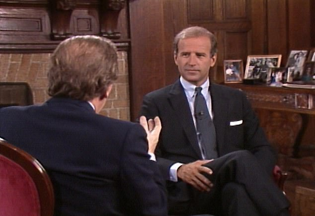 Biden would drop out of the 1988 race just a few weeks later and, as a result, the interview with him, for a series called The Next President with David Frost, was never broadcast