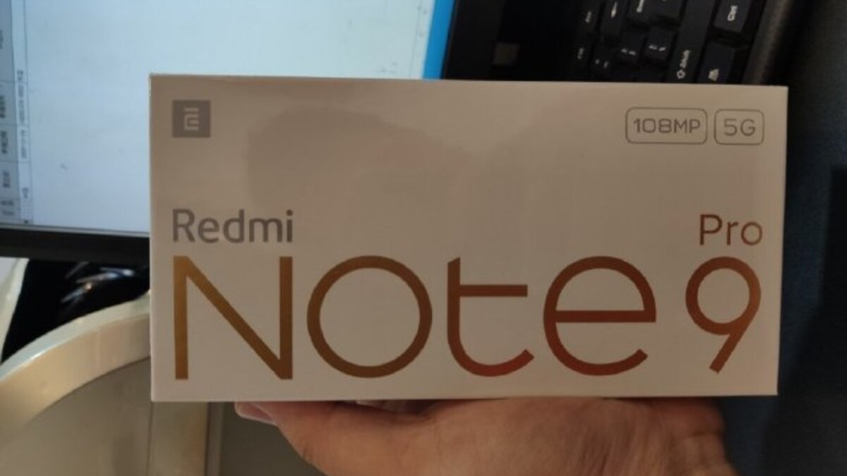 Redmi Note 9 5G Series Retail Boxes Leak Ahead of Launch