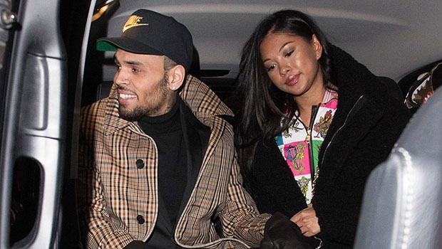 Chris Brown's Son Aeko, 1, Twins With Ammika Harris In Mommy & Me Holiday PJs — Pics