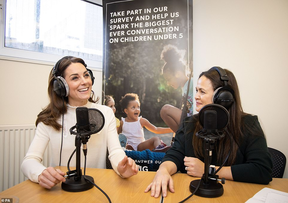 Kate spoke at length about the survey and her experience as a mother on Giovanna Fletcher's Happy Mum Happy Baby podcast in February