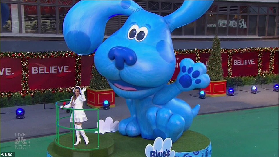 The parade featured several CGI floats that viewers deemed 'terrifying'
