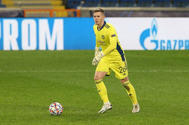 ISTANBUL, TURKEY - NOVEMBER 04: Dean Henderson of Manchester United in action during the UEFA Champions League Group H stage match between Istanbul Basaksehir and Manchester United at Basaksehir Fatih Terim Stadyumu on November 04, 2020 in Istanbul, Turkey. (Photo by Matthew Peters/Manchester United via Getty Images)