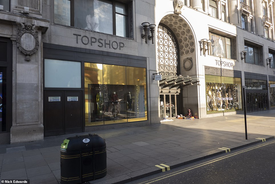 Topshop on Oxford Street today