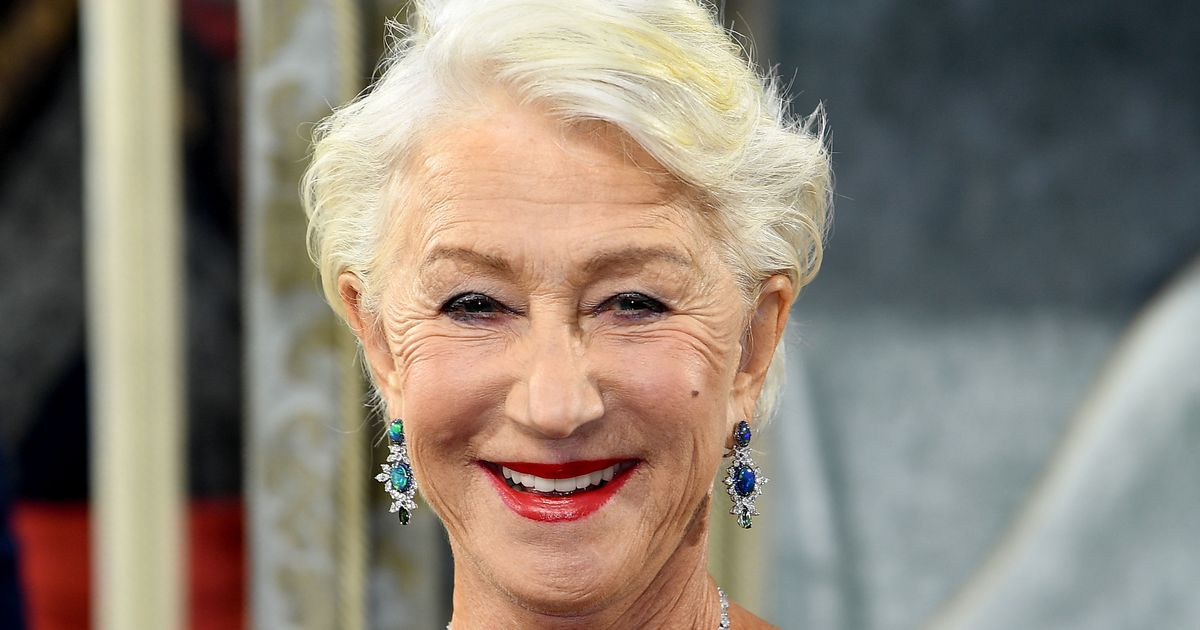 Helen Mirren is happy looking her age at 75 and has no plans for plastic surgery