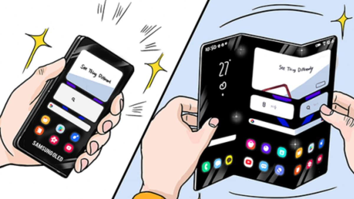 Samsung Showcases Tri-Fold, Rollable Smartphone Designs