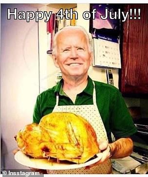 Meme of Joe Biden shared by Don Jr