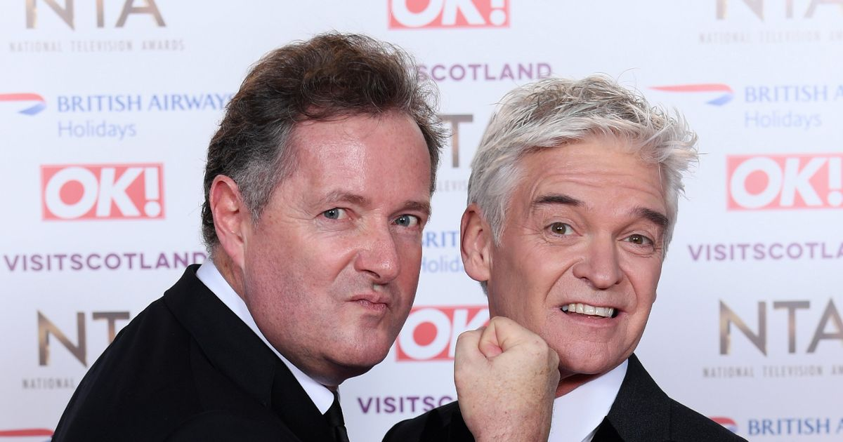 Phillip Schofield makes a savage dig at his former rival Piers Morgan