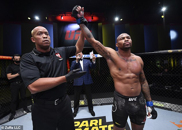 UFC welterweight fighter Khaos Williams is backing Tyson, calling him a 'different breed'