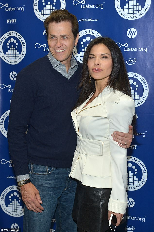 Before their split, Patrick Whitesell (left) and Lauren Sanchez (right) were married for 14 years with two children