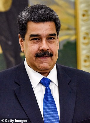 The US is one of a number of nations that does not recognize President Nicolas Maduro (above)