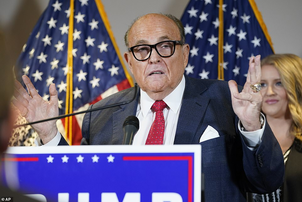 Rudy Giuliani, President Trump's personal attorney, argued the case for the president earlier this week
