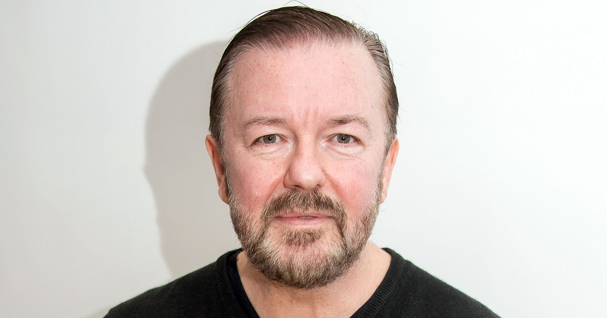 Ricky Gervais 'thought he was going to die' after choking on a smoothie