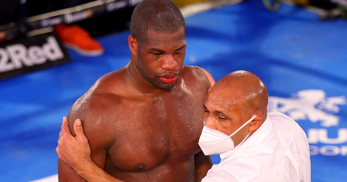 Daniel Dubois accused of quitting during defeat by Joe Joyce
