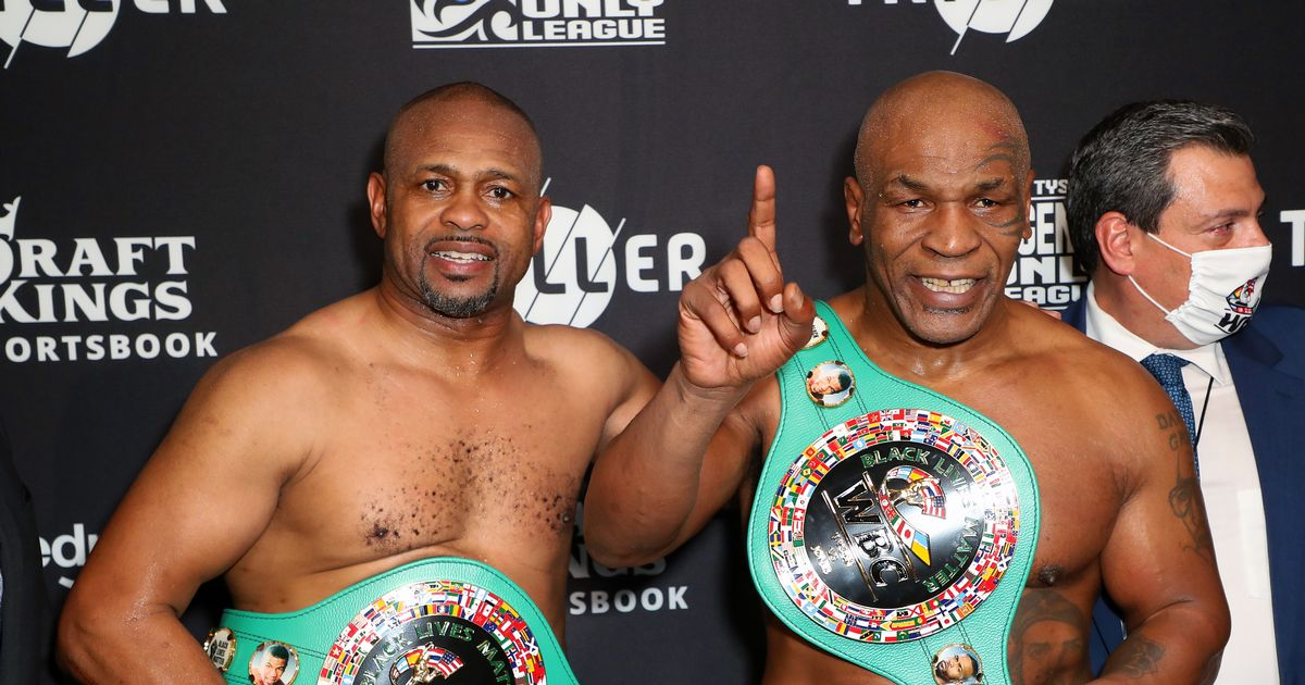 Mike Tyson vs Roy Jones Jr scorecards announced as exhibition fight ends in draw