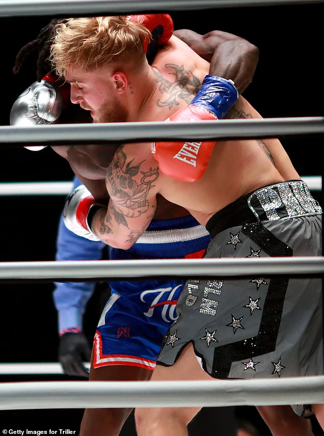 Trash talk: It comes after he talked some trash at Robinson during the weigh-in: 'Nate's kids, if you're watching, please don¿t watch the fight'