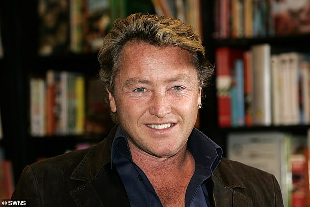 The impressive movie memorabilia owned by Michael Flatley, pictured,is set on a poster background signed by Hopkins and Julianne Moore, the co stars of the movie Hannibal, the 2001 sequel to The Silence of the Lambs