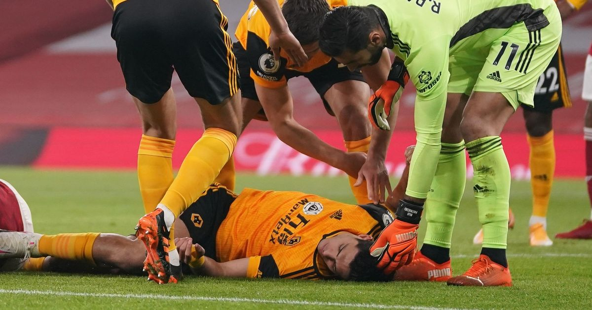 Wolves provide Jimenez injury update after he has operation on fractured skull