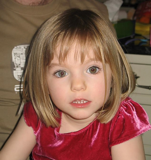 Madeleine was three years old at the time of her disappearance in 2007 from an apartment where her family was on holiday in Praia da Luz in Portugal's Algarve region