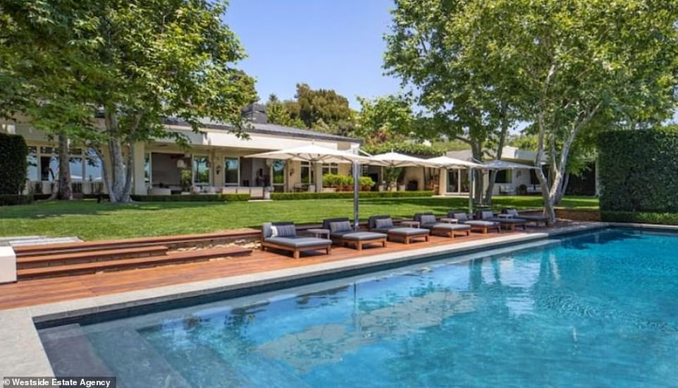 So much luxury: On Monday it was revealed the American Idol host has listed his expansive, indoor/outdoor dream home in Beverly Hills for a whopping $85M