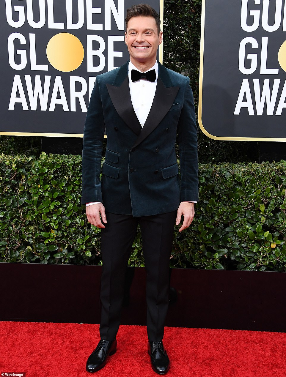 The man with a big house to sell: The entertainment mogul is seen here at the 77th Annual Golden Globe Awards at The Beverly Hilton Hotel in January 2020