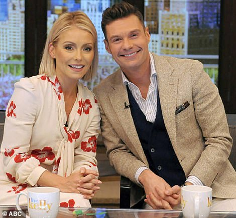 Day: Ryan is on Live With Kelly And Ryan with TV veteran Kelly Ripa