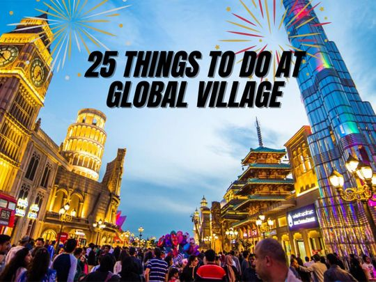 25 things to do in Global Village Dubai for its 25th year