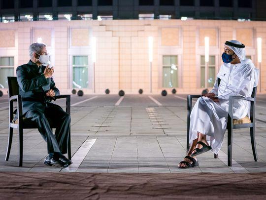 Abdullah, Indian minister Jaishankar discuss advancing cooperation