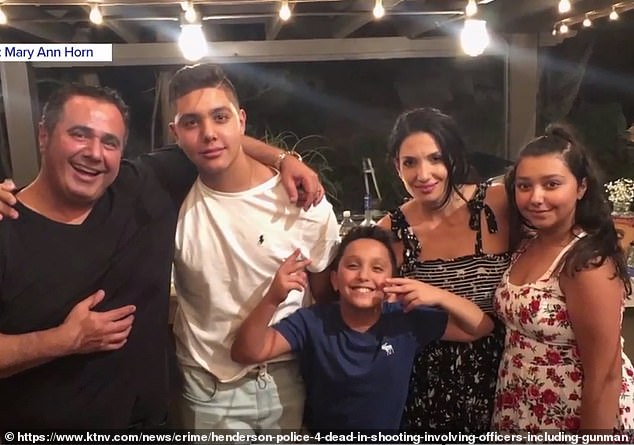'Addict' neighbor shot Nevada family 'because he thought they filed drug complaint against him'