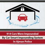 Ajman Police impounds 914 vehicles at home since July