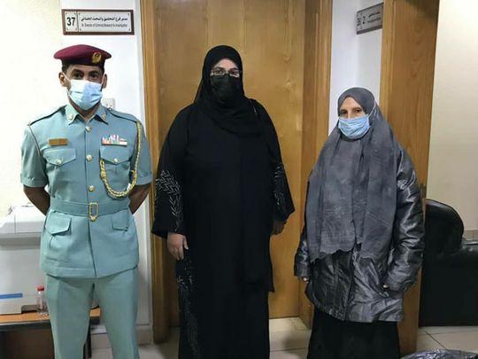 Ajman Police repatriate elderly woman who arrived in UAE by mistake
