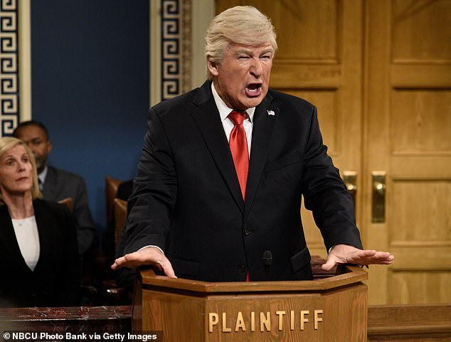 Alec Baldwin 'overjoyed to lose a job' as he prepares to roast Donald Trump one last time on SNL