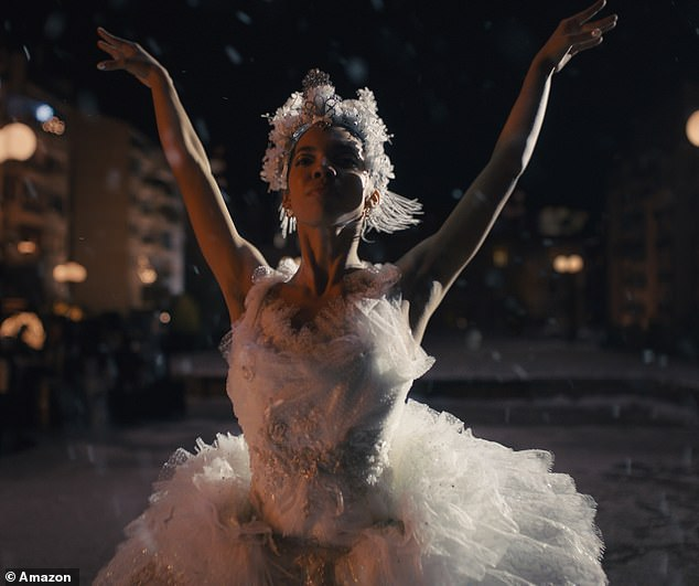 Amazon releases Christmas advert starring a ballerina whose performance is cancelled by Covid