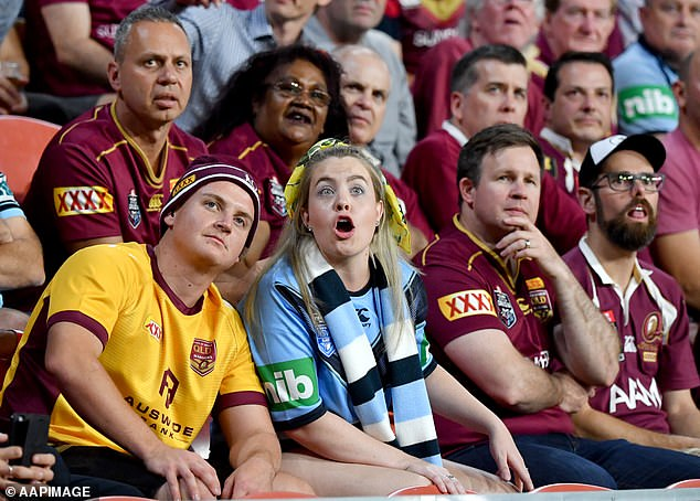 Americans and Europeans cooped up in lockoown marvel at State of Origin crowd