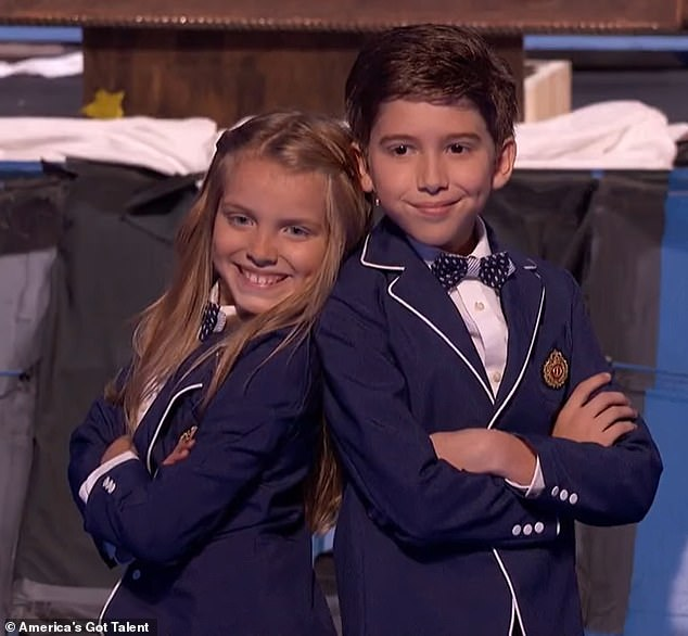 Kadan and Brooklyn Rockett - siblings who shot to fame on America's Got Talent - have been arrested for refusing to leave their father amid a heated custody battle