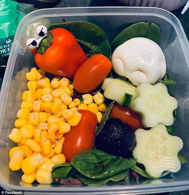 Amused mums share the elaborate and eye-popping lunchboxes they make for their husbands